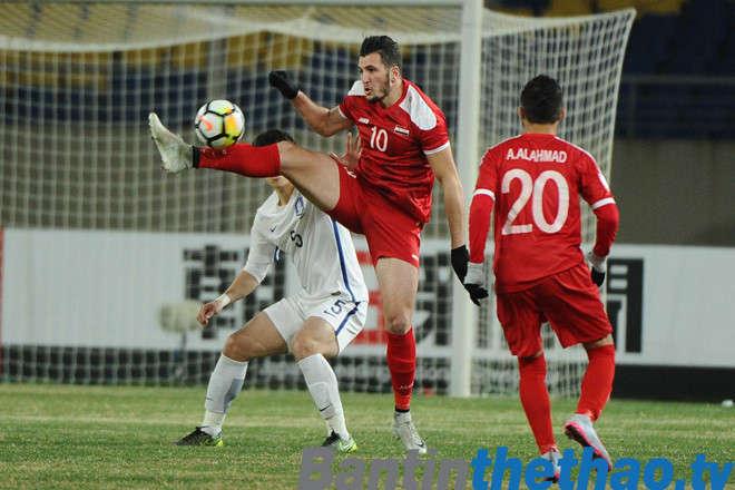 U23 Việt Nam vs U23 Syria hôm nay ngày 17/1/2018