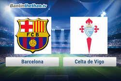 Link xem trực tiếp, link sopcast Barca vs Celta de Vigo hôm nay 12/1/2018 Cúp Nhà Vua