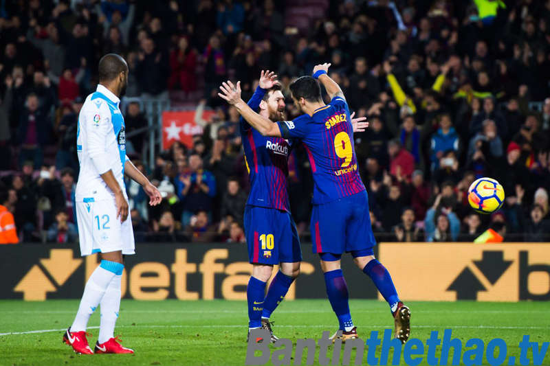 Barca vs Deportivo đêm nay 29/1/2018 La Liga
