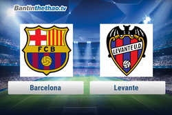 Link xem trực tiếp, link sopcast Barca vs Levante tối nay 7/1/2018 La Liga