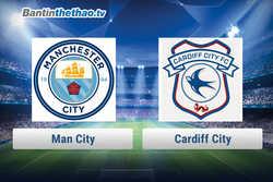 Link xem trực tiếp, link sopcast Man City vs Cardiff City tối nay 28/1/2018 Ngoại Hạng Anh
