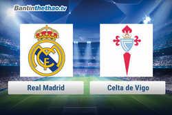 Link xem trực tiếp, link sopcast Real vs Celta de Vigo đêm nay 8/1/2018 La Liga