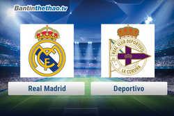 Link xem trực tiếp, link sopcast Real vs Deportivo tối nay 21/1/2018 La Liga