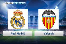 Link xem trực tiếp, link sopcast Real vs Valencia tối nay 27/1/2018 La Liga