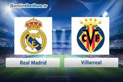 Link xem trực tiếp, link sopcast Real vs Villarreal tối nay 13/1/2018 La Liga