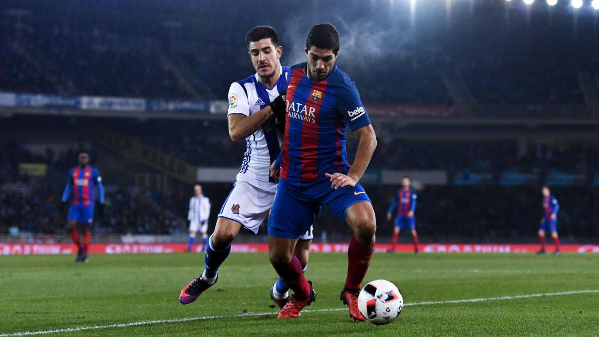 Messi, Suarez lập công, Barca thoát thua trước Sociedad