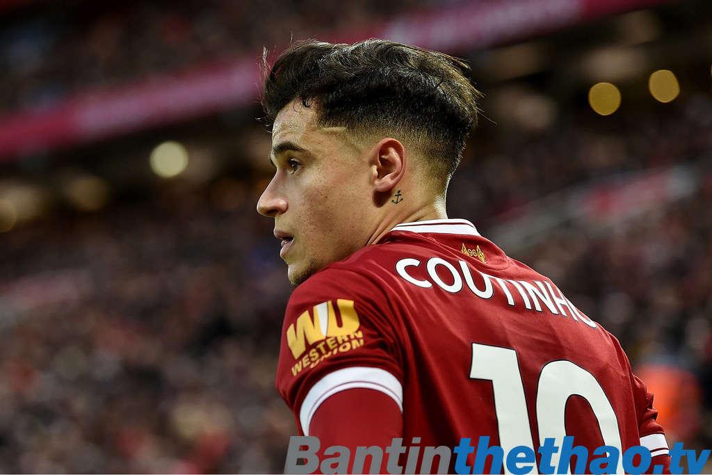 Liverpool muốn Barca phá kỷ lục chuyển nhượng nếu như muốn có Coutinho trong đội hình