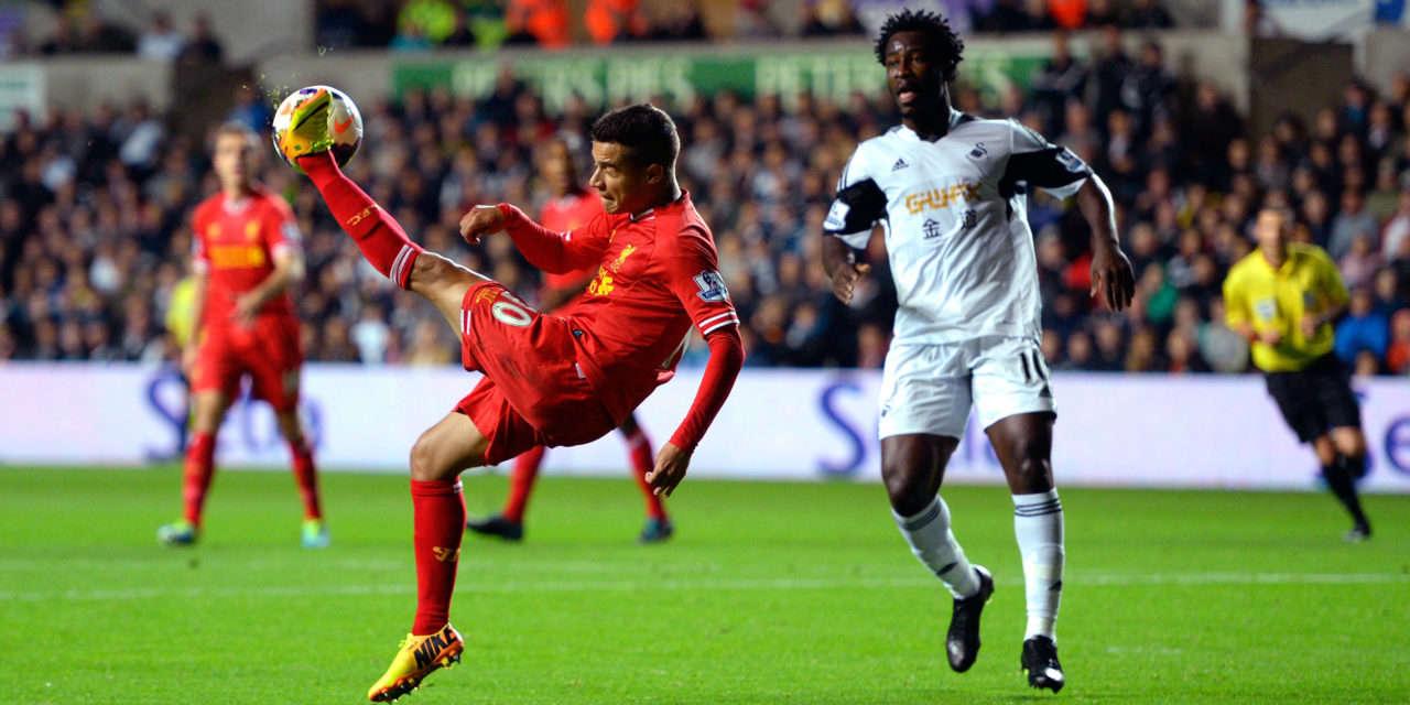 Liverpool vừa thua Swansea