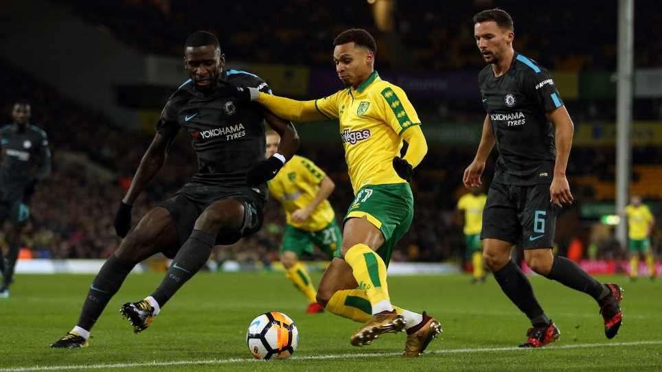 Norwich đã cầm hòa Chelsea 0-0