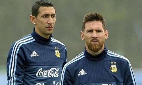 Messi và Di Maria là hai ngôi sao hàng đầu của Argenitna hiện nay