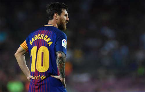 Messi từng có ba lần dứt điểm trúng khung thành trong trận Barca thắng Betis 2-0