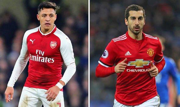 Mkhitaryansang Arsenal, còn Sanchez cập bến MU