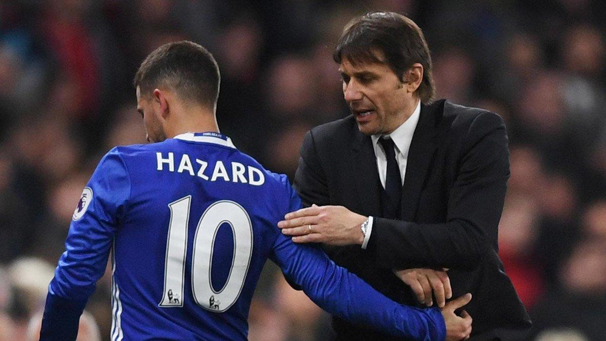 Conte cảnh cáo Hazard vì bệnh ngôi sao