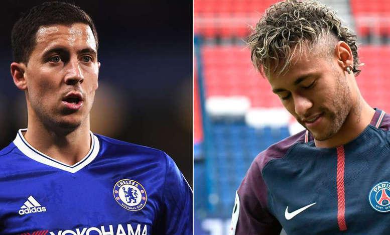 Real định đưa cả Hazard và Neymar về Bernabeu