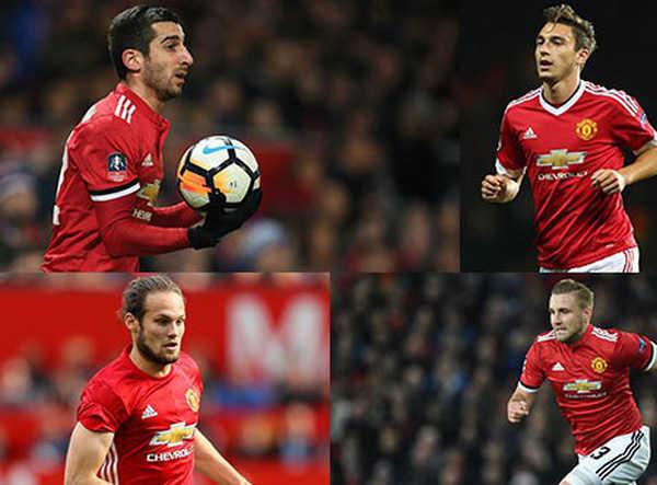 5 cầu thủ có khả năng sẽ rời MU trong tháng 1/2018