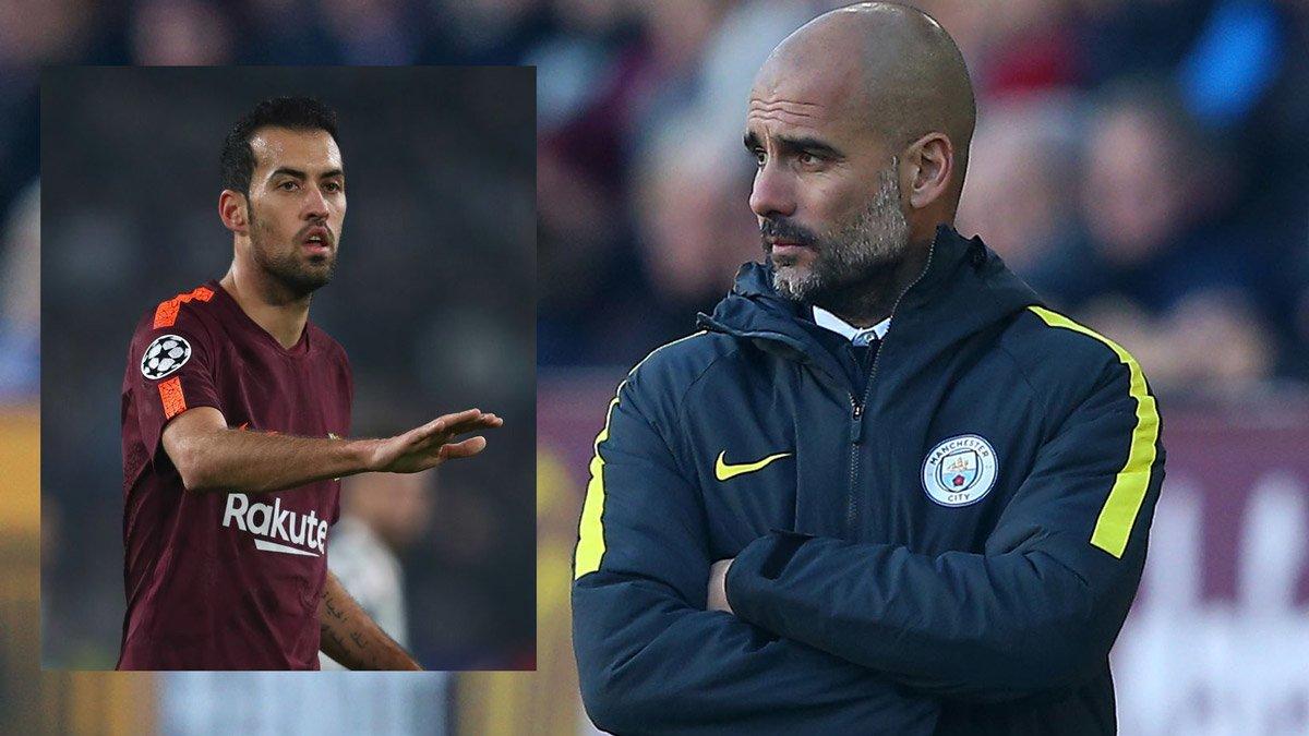 Pep Guardiola muốn đưa Busquets về Man City