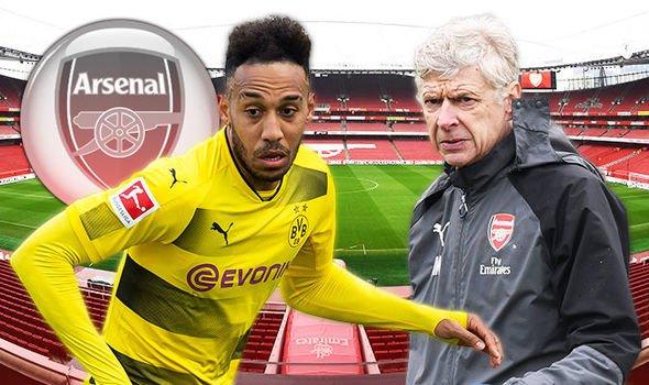 Aubameyang sắp trở thành tân binh Arsenal
