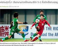 Người Thái thán phục chúc mừng chiến công U23 Việt Nam