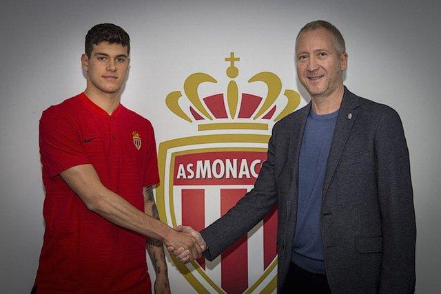 Pietro Pellegri chính thức gia nhập Monaco