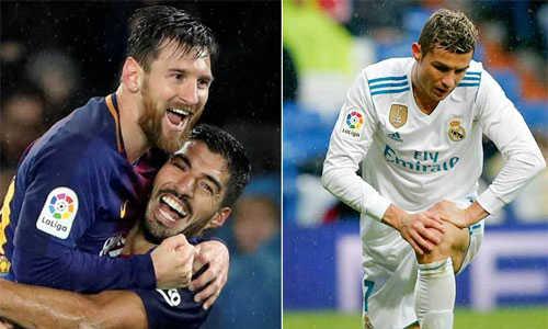 Real đứng gần nhóm có nguy cơ xuống hạng hơn khoảng cách điểm với Barca
