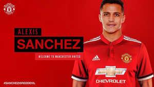 Số áo của Sanchez khi cập bến MU đã được xác định!