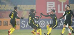 U23 Malaysia hiên ngang vào tứ kết giải U23 châu Á