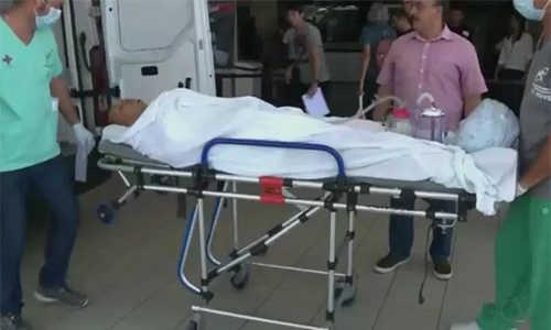 Cựu cầu thủ Brazil bị cướp tấn công bằng dao