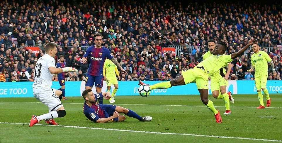 Barca bị Getafe cầm hòa, cuộc đua La Liga hấp dẫn trở lại