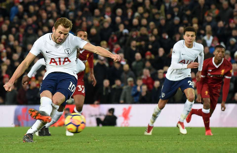 Tottenham vừa có trận hòa Liverpool 2-2