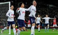 Thủng lưới sau 11 giây, MU bại trận trước Tottenham