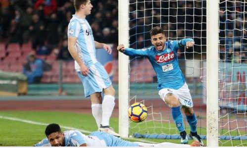 Vùi dập Lazio, Napoli đòi lại ngôi đầu Serie A