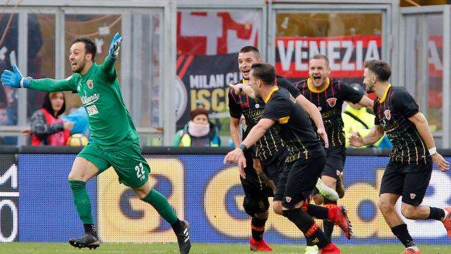 Benevento đã ngày càng thích nghi hơn với môi trường Serie A
