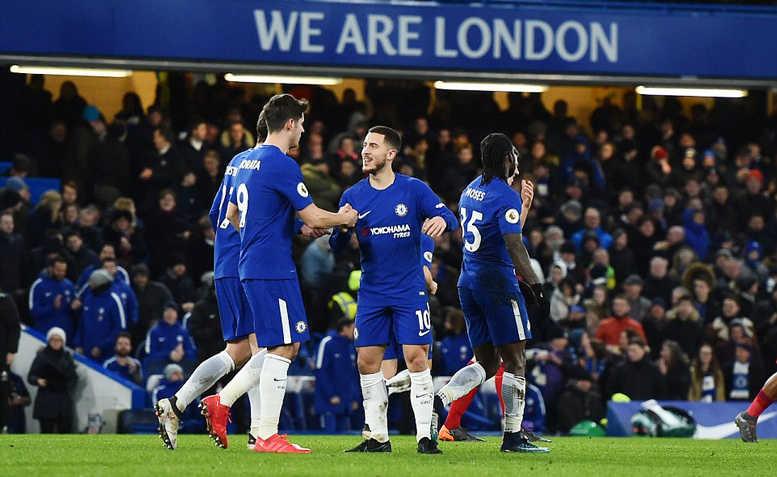 Chelsea đại thắng, Conte tìm lại nụ cười