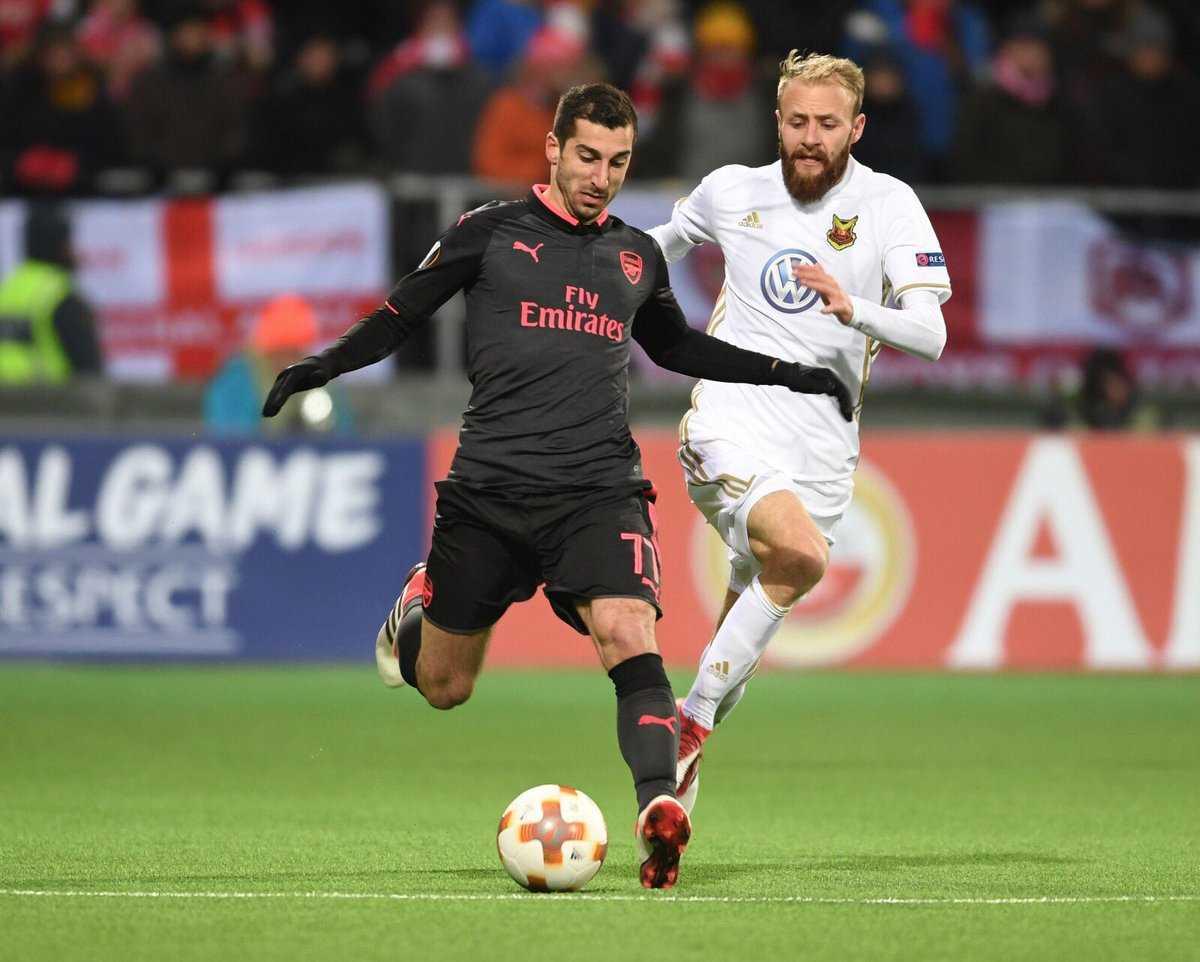 Mkhitaryan có thể giúp Arsenal vô địch Europa League?