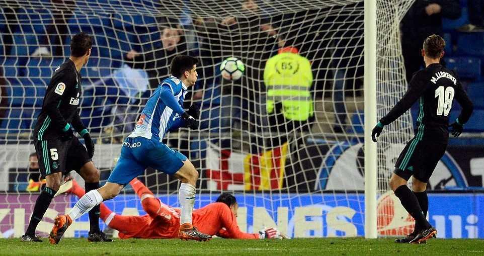 Vắng Ronaldo, Real nhận thất bại cay đắng ở phút 93