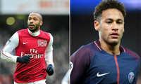 """Henry: """"Neymar nên chuyển sang môn thể thao khác nếu muốn thoát khỏi cái bóng của Messi"""""""