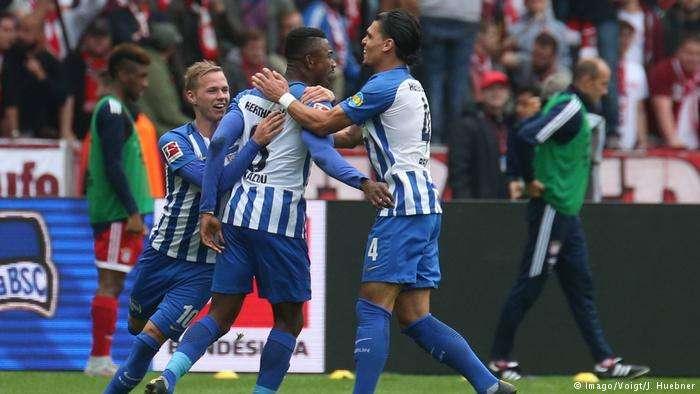 Dù có phong độ không tốt nhưng Hertha chơi khá hay trước các đối thủ lớn