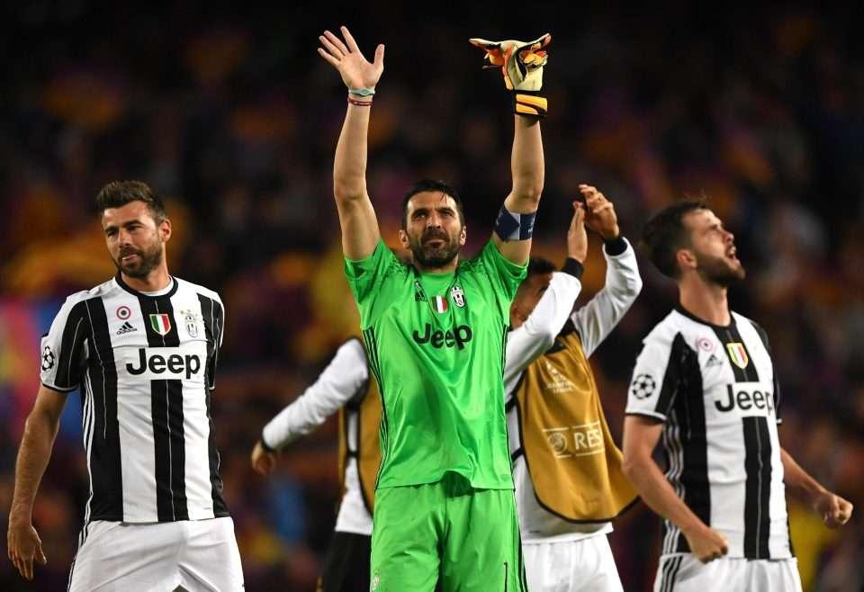 Juventus hướng đến trận gặp Tottenham tại Champions League vào giữa tuần tới