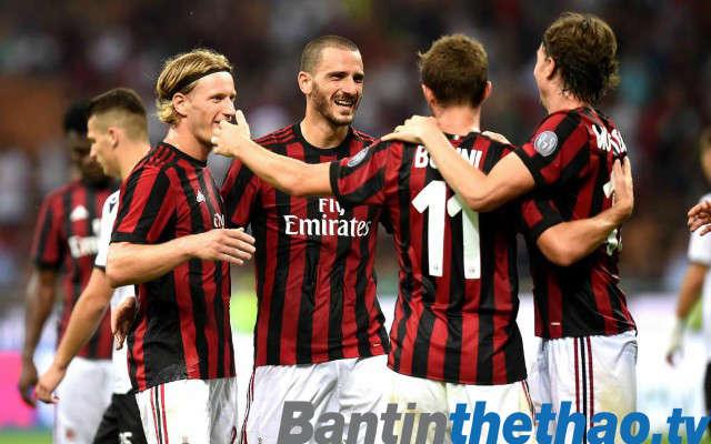 AC Milan vs Roma tối nay 26/2/2018 Serie A