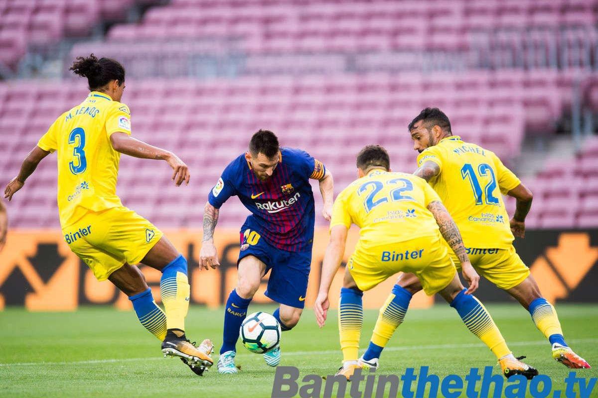Barca vs Las Palmas đêm nay 2/3/2018 La Liga