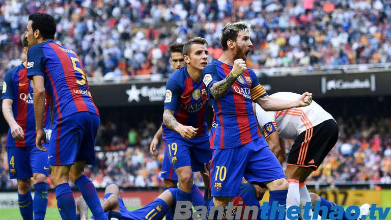 Barca vs Valencia hôm nay 9/2/2018 Cúp Nhà Vua