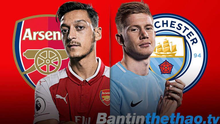 Man City vs Arsenal tối nay 25/2/2018 Cúp Liên Đoàn