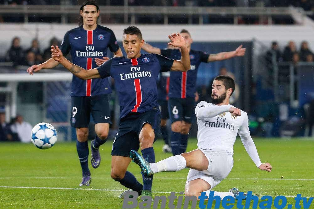 Real vs PSG đêm nay 15/2/2018 Cúp C1