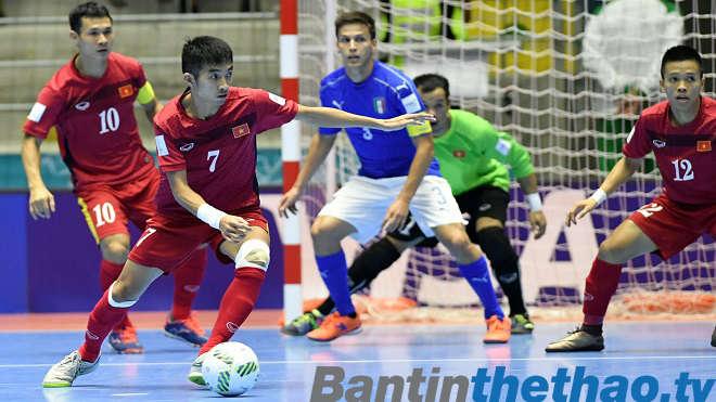 Việt Nam vs Malaysia VCK  Futsal Châu Á hôm nay 1/2/2018