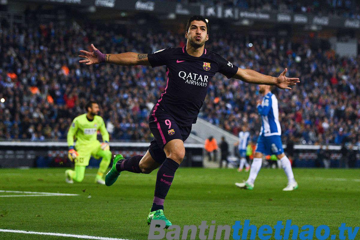Barca vs Espanyol tối nay 4/2/2018 La Liga