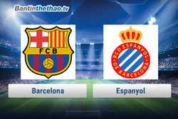 Link xem trực tiếp, link sopcast Barca vs Espanyol tối nay 4/2/2018 La Liga