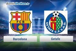 Link xem trực tiếp, link sopcast Barca vs Getafe tối nay 11/2/2018 La Liga