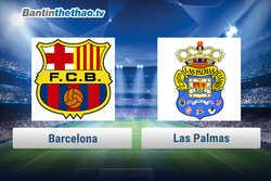 Link xem trực tiếp, link sopcast Barca vs Las Palmas đêm nay 2/3/2018 La Liga