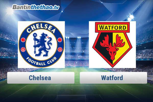 Link xem trực tiếp, link sopcast Chelsea vs Watford tối nay 6/2/2018 Ngoại Hạng Anh