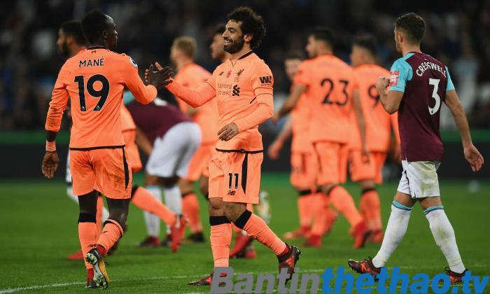Liverpool vs West Ham tối nay 24/2/2018 Ngoại Hạng Anh
